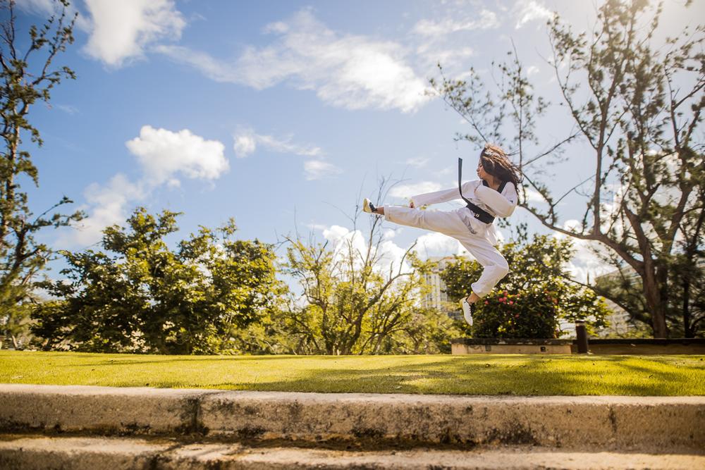 Is karate a sport?
