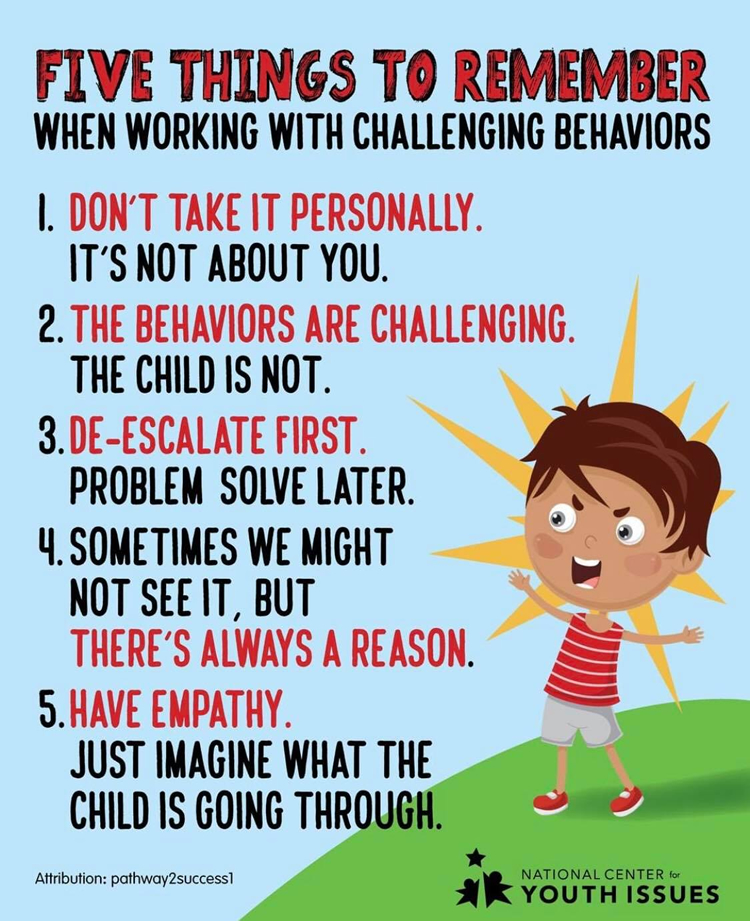 challenging behavior responses